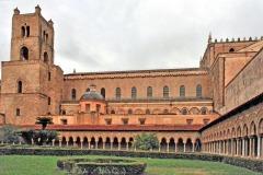 Monreale-Chiostro-e-Cattedrale